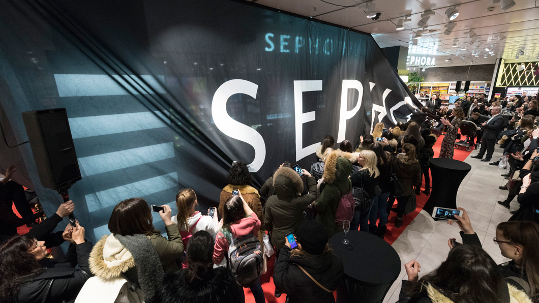 Welcome to Basel, Sephora!
