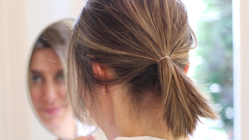 Doppelt gemoppelt: der Frisuren-Trick für mehr Volumen