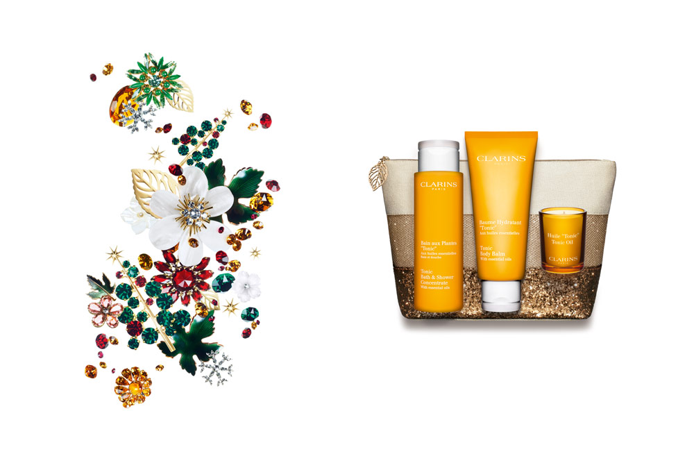 Clarins Xmas Set Beauty Set Spa at home Wellness