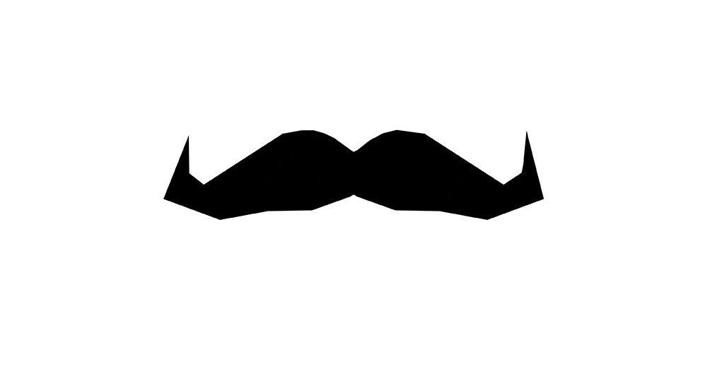 Movember Bart Wohltätigkeit Männergesundheit