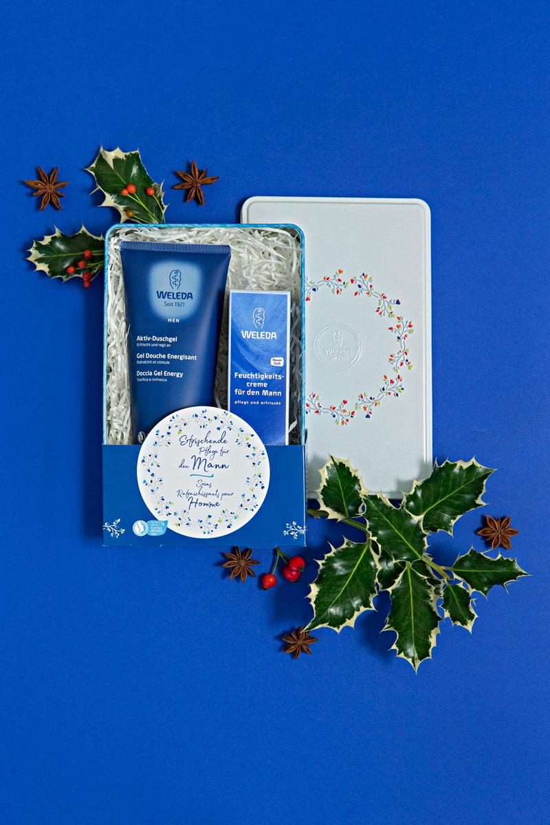Weleda Weihnachtssets Naturkosmetik Koerperpflege Maennerkosmetik