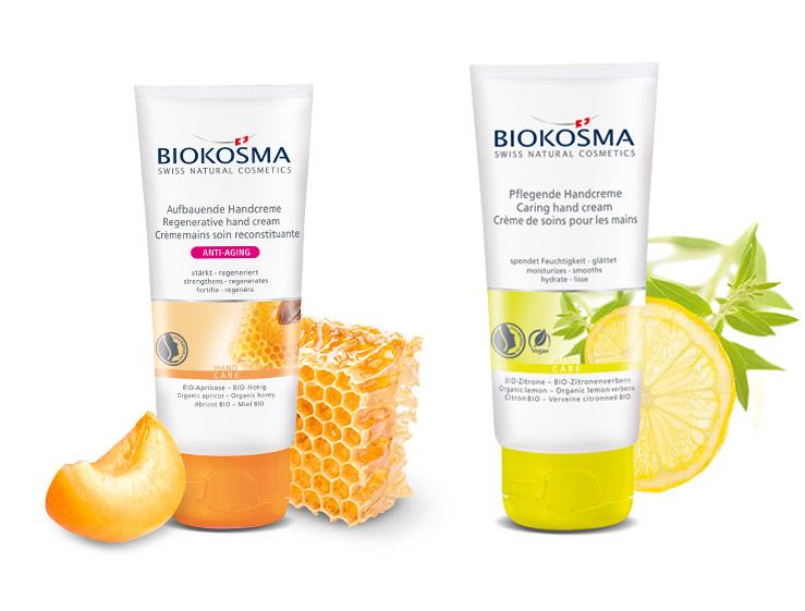 neue Handcremes von Biokosma mit Früchten in Bio-Qualität