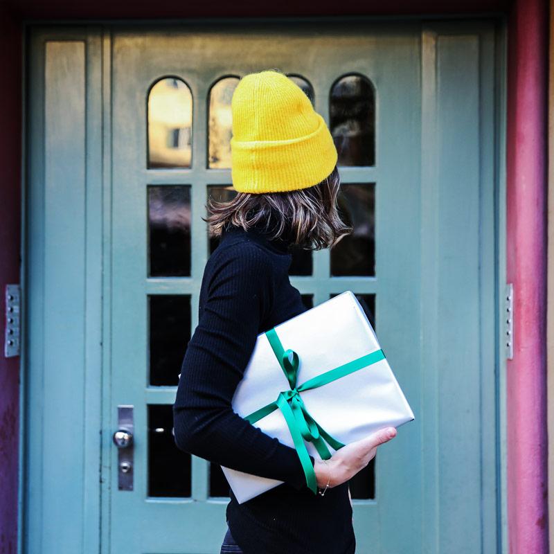 Geschenk Päckchen Paket Bescherung sonrisa Winter