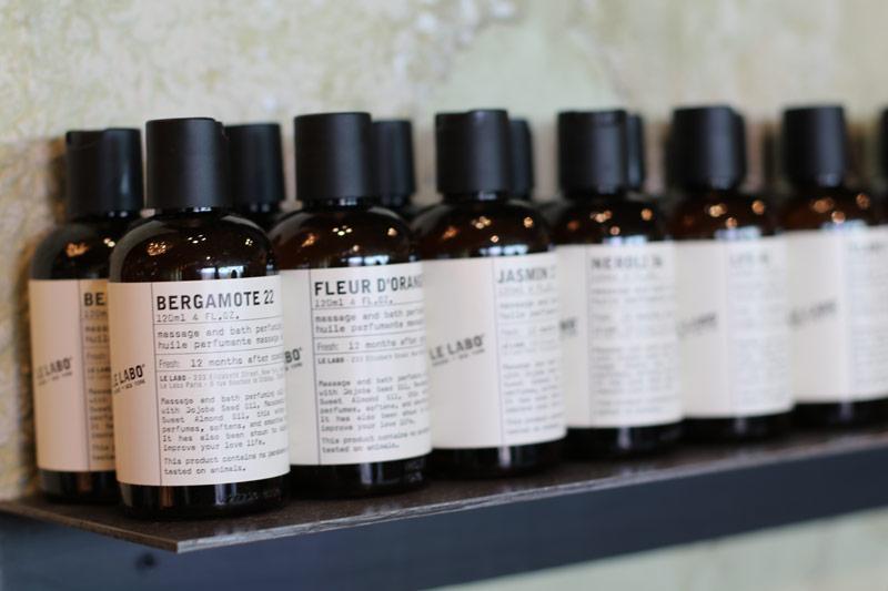 Neu auch in der Schweiz erhältlich: die Düfte, Körperprodukte und Duftkezen von Le Labo.