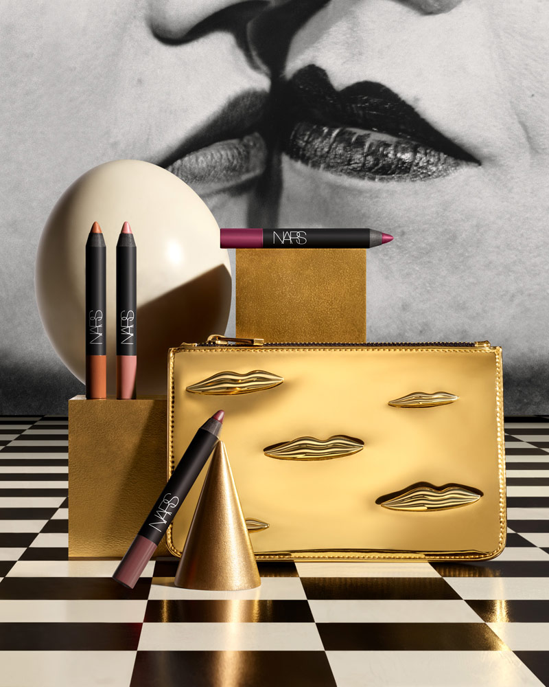 Man-Ray-for-NARS-Holiday-Stylized-Image---The-Kiss-Velvet-Matte-Lip-Pencil-Set---jpeg