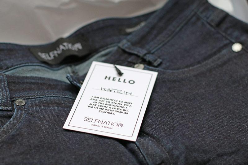 Denim Jeans Selfnation Kaschmir nachhaltig fair Mode Fashion