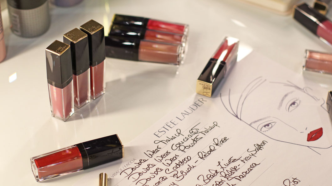 2in1: Backstage mit Estée Lauder und MakeItUp inklusive Beauty-Verlosung