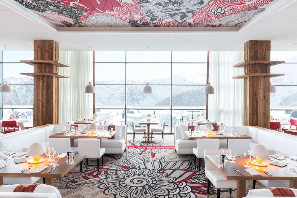 Diverse Restaurants im neuen Club Med Grand Massif lassen keine kulinarischen Wünsche offen.