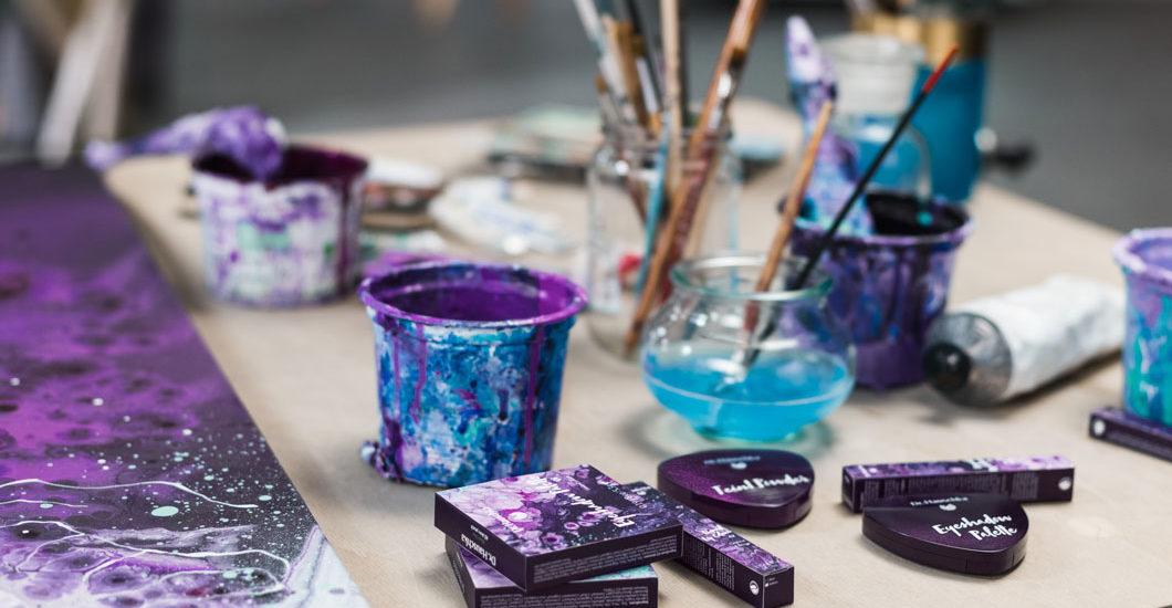 """Auf sonrisa gibt es die neue, limitierte Makeup-Kollektion """"Purple Light"""" von Dr Hauschka nicht nur zum Angucken, sondern auch zu Gewinnen!"""