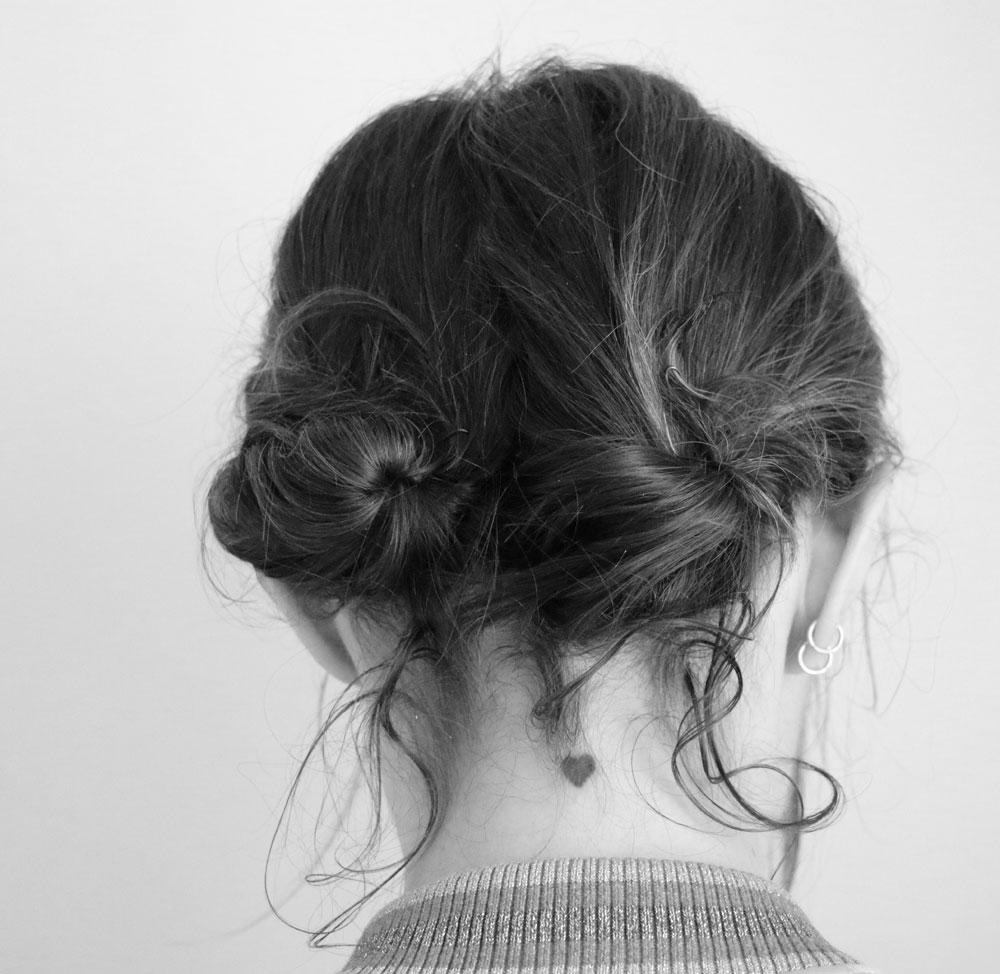 Frisuren Tutorial für eine schnelle Hochsteckfrisur