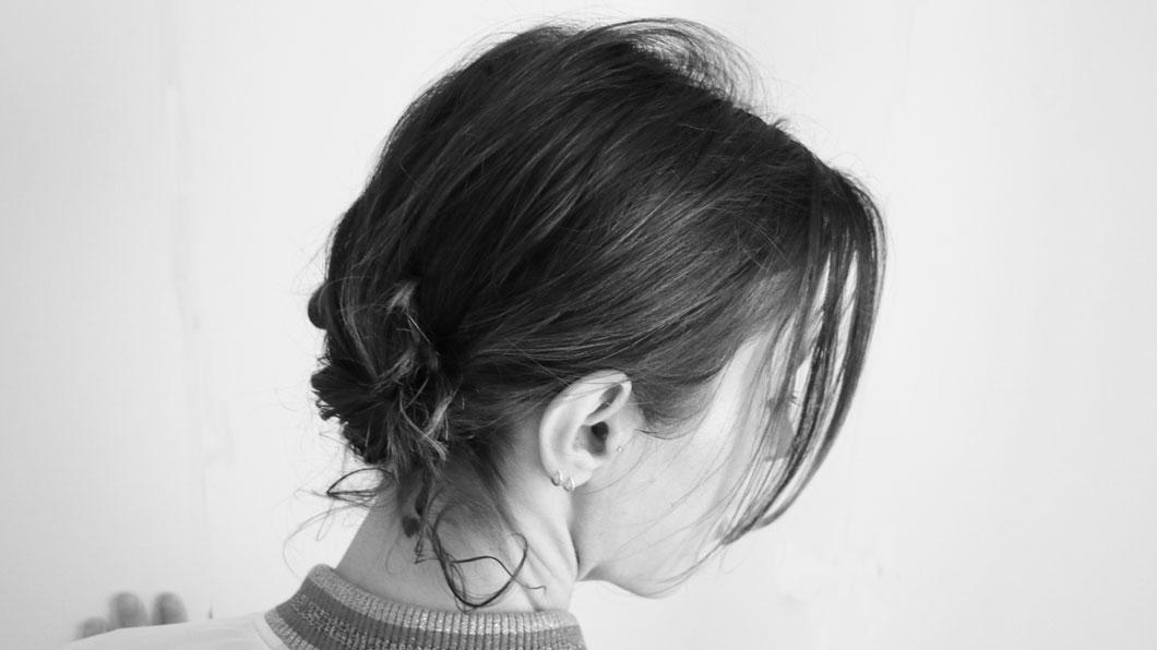 Frisuren-Tutorial für Eilige: der doppelte «Ödeldött»