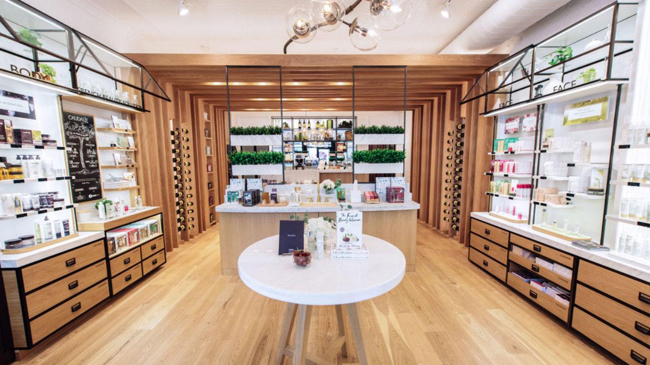 La Maison Caudalie im Meatpacking District von NYC vereint Boutique, Spa und Restaurant.