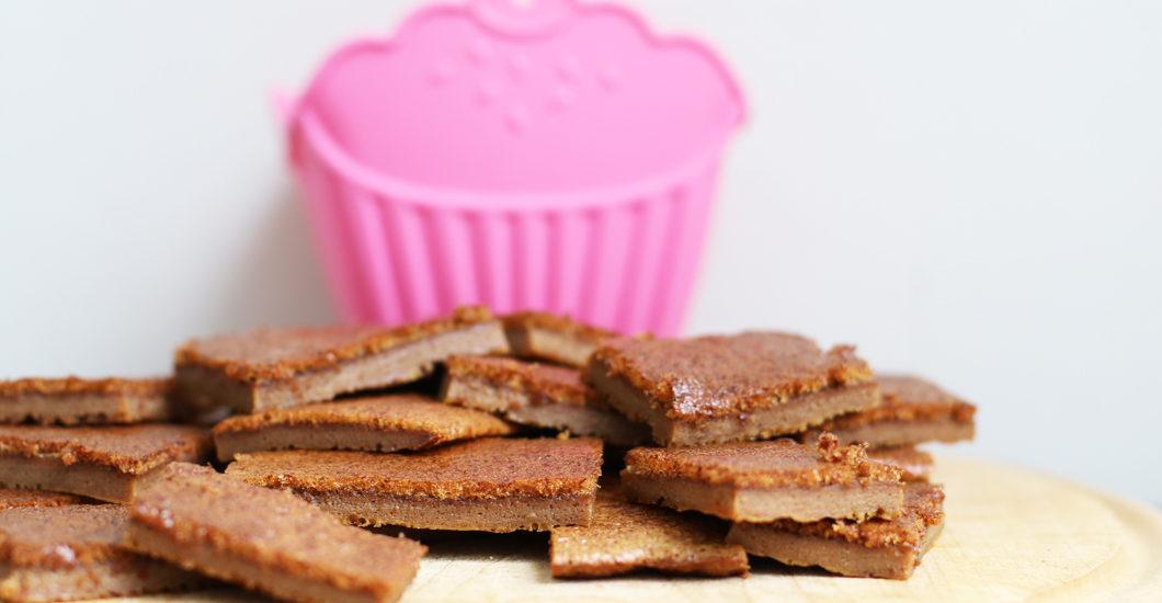 Ein kulinarischer Schönmacher aus zwei Zutaten: Schoko-Kokos-Schnittchen à là sonrisa.ch.