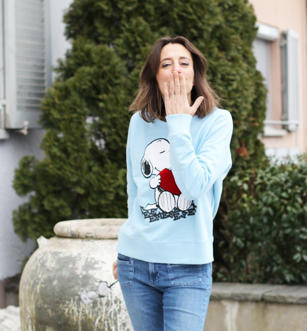 sonrisa ist ein grosser Fan der neuen, limitierten 'Peanuts x Essentiel Antwerp'-Kollektion
