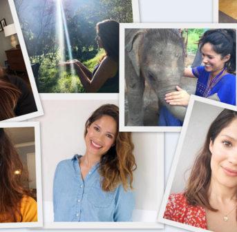 Naturkosmetik-Unternehmerin und Promi-Makeupartist Lina Hanson zeigt zwei einfache Beauty-Tutorials für alle.