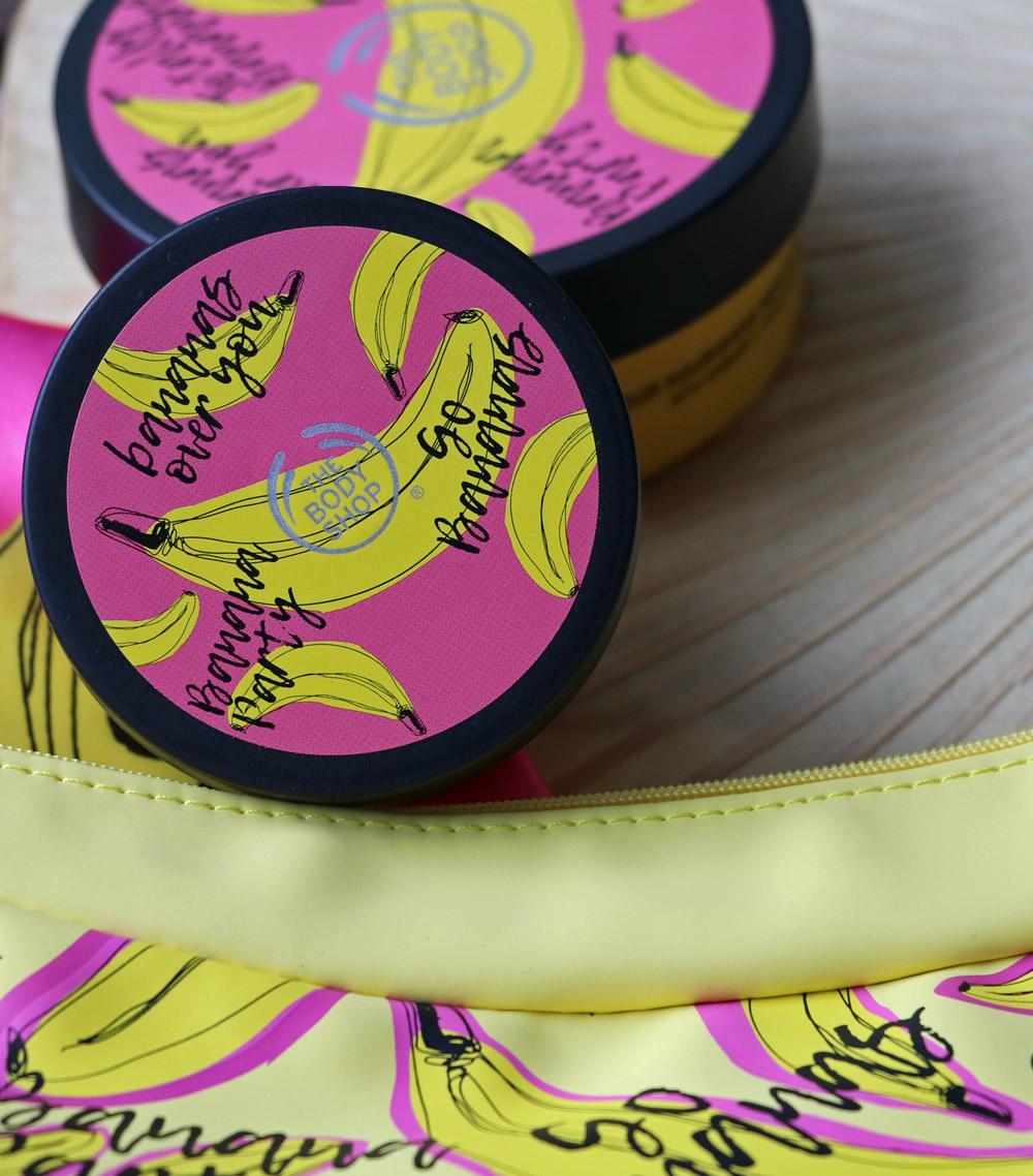 Alles Banane, oder was? The Bodyshop lanciert eine vegane Körperlinie mit fair gehandeltem Banananemus als Schönmacher.