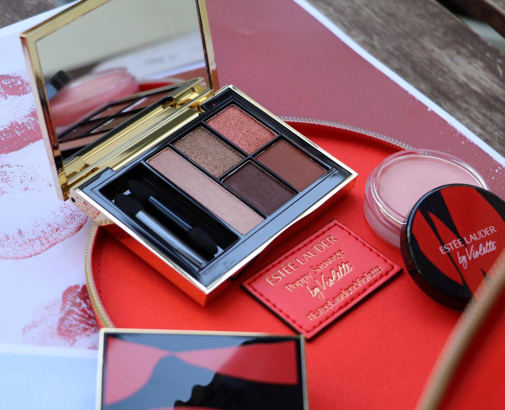 Star-Visagistin Violette hat mit The Poppy Sauvage Collection ihre erste Linie für Estée Lauder entwickelt.