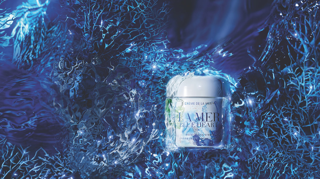 sonrisa capture of the week n° 28 mit der Blue Heart Limited-Edition Crème de la Mer