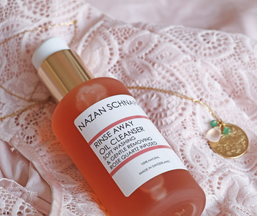 sonrisa loves: Nazan Schnapp Rinse Away Oil Cleanser mit Rosenquarz