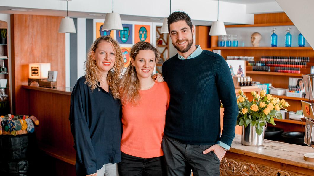 Beauty hoch drei: Das exklusive Interview mit dem neuen Schminkbar-Team