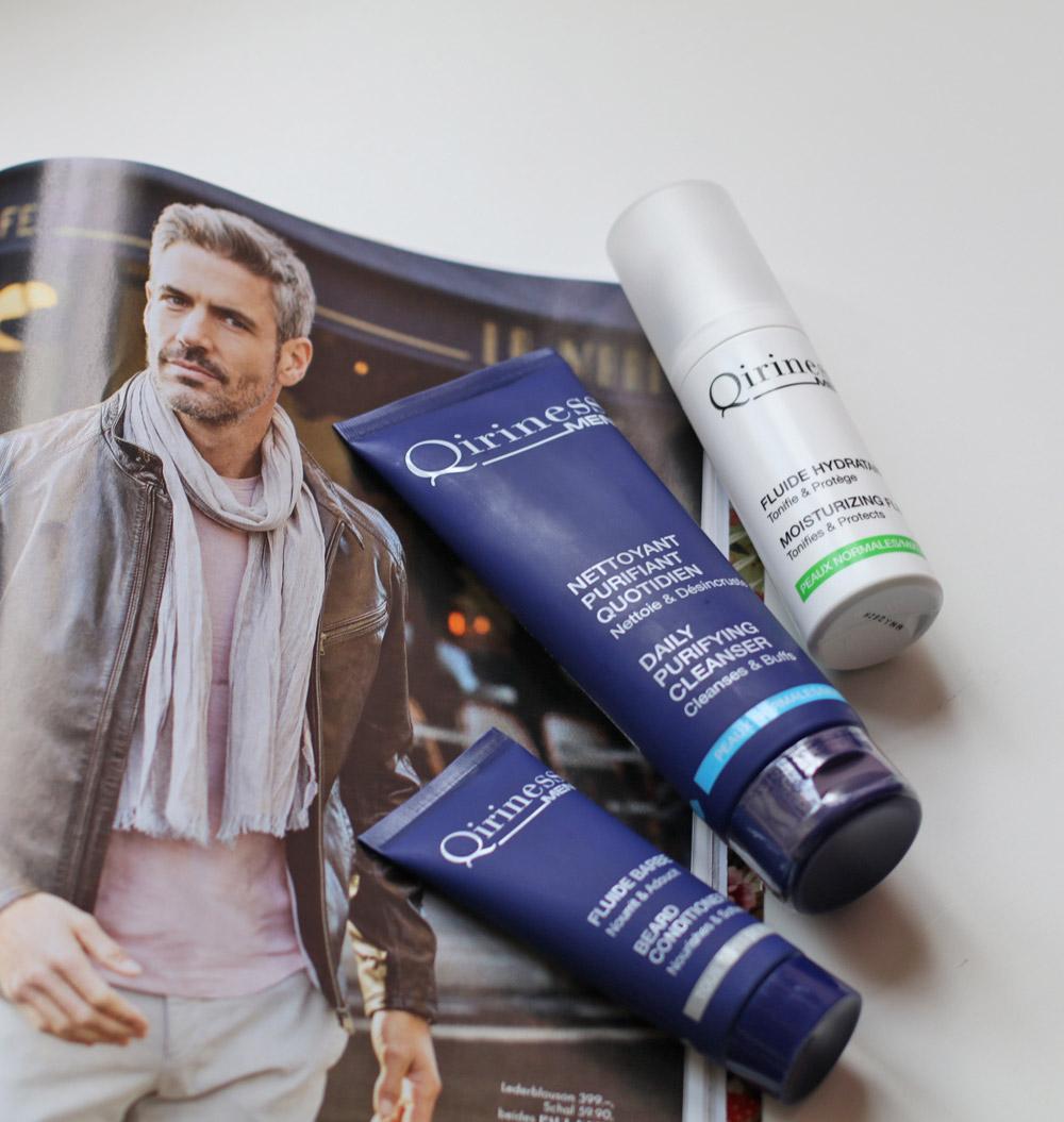 Beauty-Tester Daniel hat die Männerprodukte von Qiriness ausprobiert - unter anderem mit leichter Tönung!
