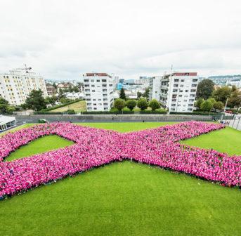 All in pink: Eindrücke und Bilder vom 11. Pink Ribbon Charity Walk in Zürich.
