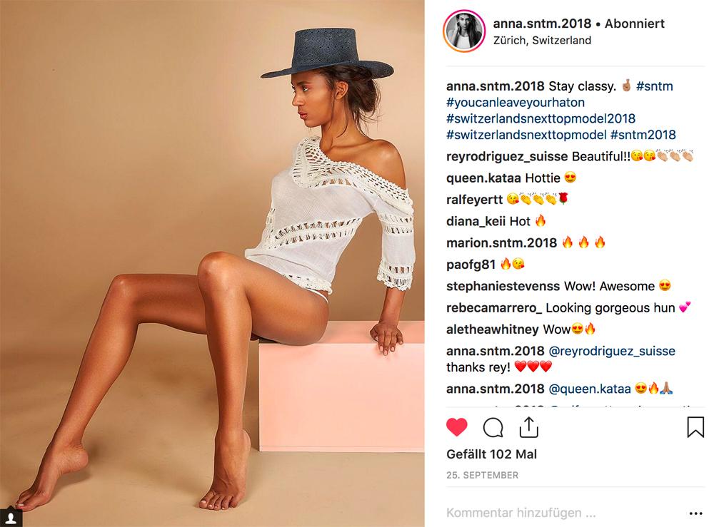 SNTM-Kandidatin Anna über Bikini-Aufnahmen, wahre Schönheit und Laufstegmomente
