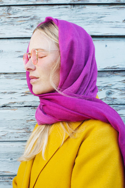 Fair produziert und krass stylish: Von Real Time Collections gibt es jetz auch tolle Schals.