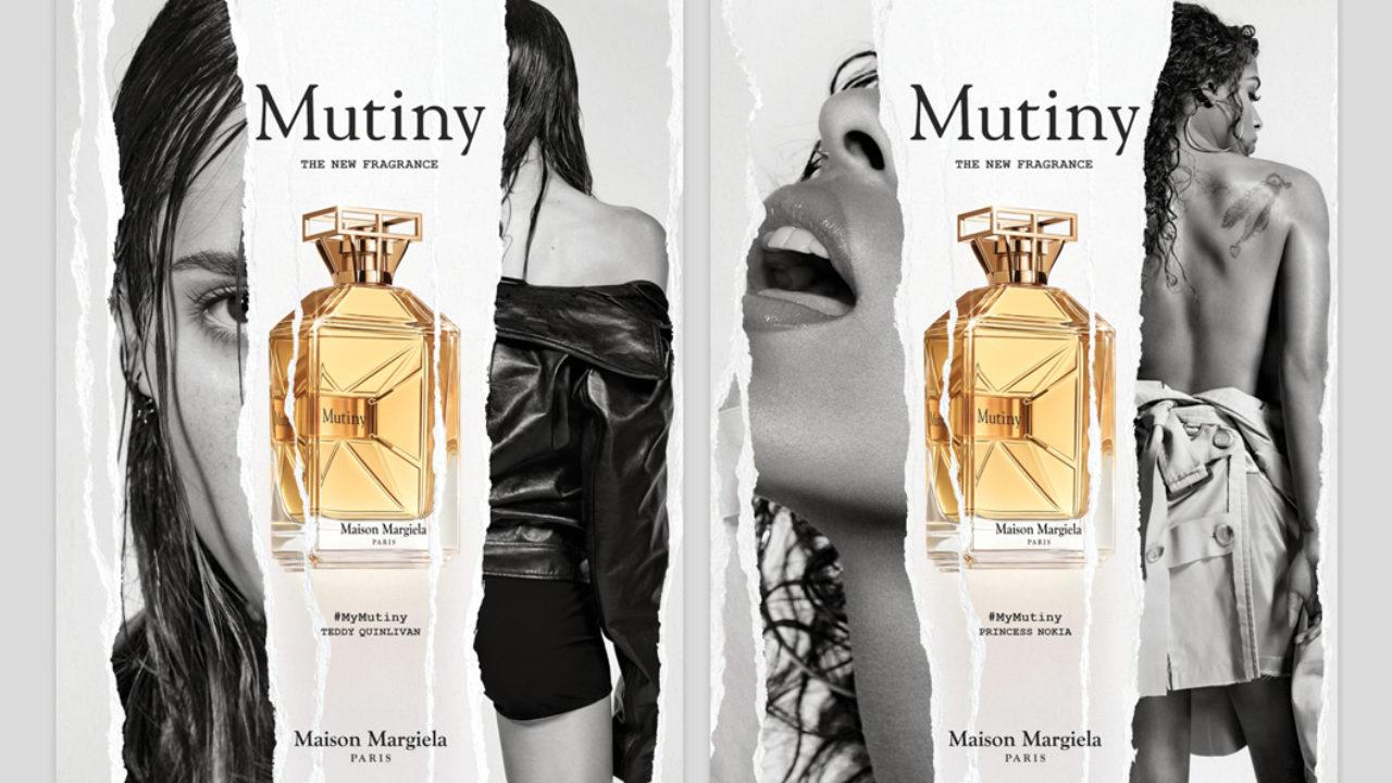 Designer John Galliano ermuntert mit dem Damenduft Mutiny von Maiso Margiela die Frauen dazu, sich selbst treu zu bleiben - selbst wenn sie damit gegen angebliche Normen verstossen.