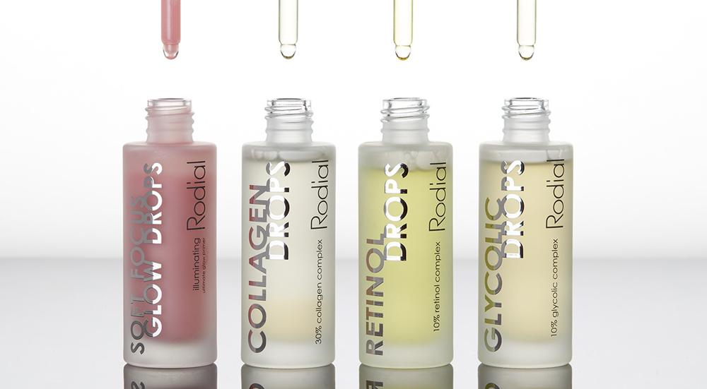 Hübsch geboostet: Die neuen Beauty-Drops von The Organic Pharmacy und Rodial ermöglichen eine gezielte Behandlung von unterschiedlichen Hautproblemen.