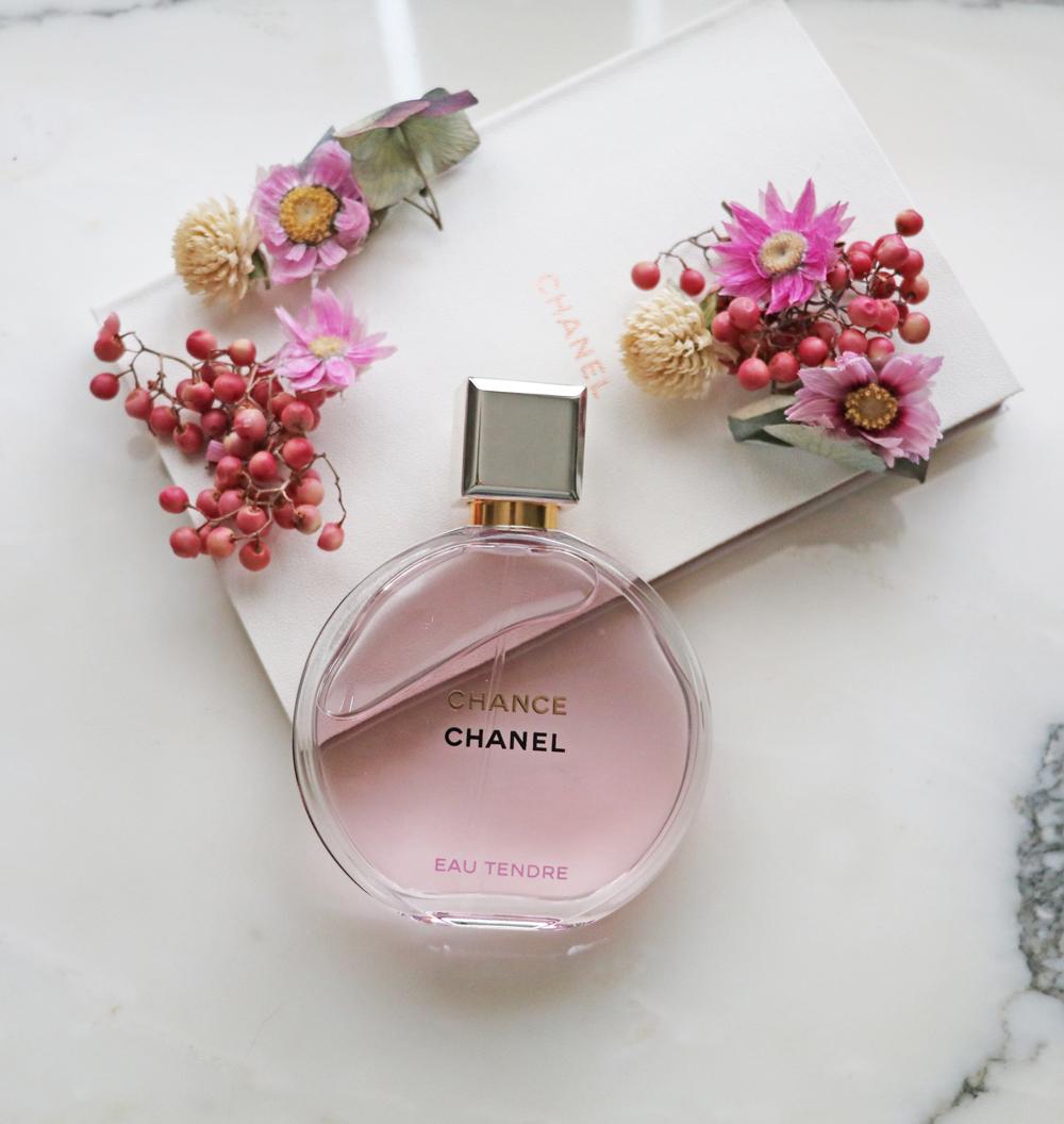Chanel Chance Tendre EdP riecht nach Frühling und sorgt bei sonrisa darum für Glücksgefühle.