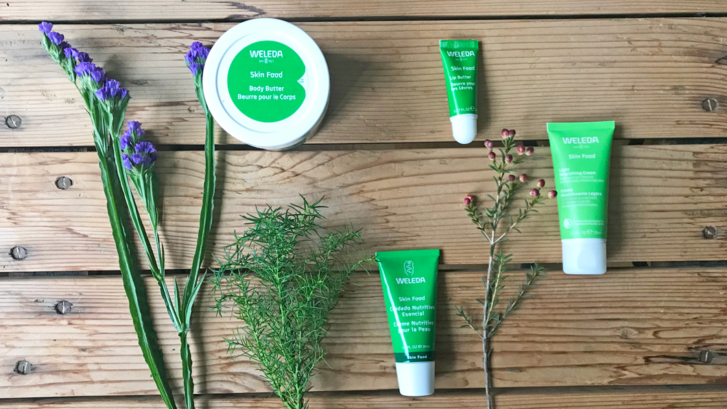 Grüne Beauty-Ikone: Weleda Skin Food