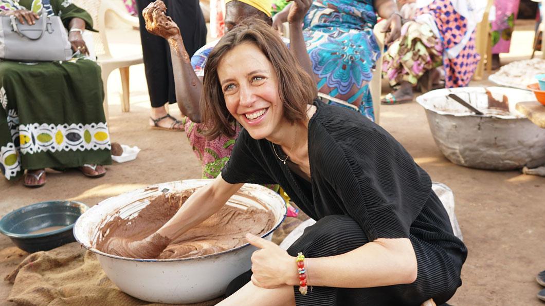 Mit The Body Shop in Ghana auf den Spuren der Sheabutter-Produktion