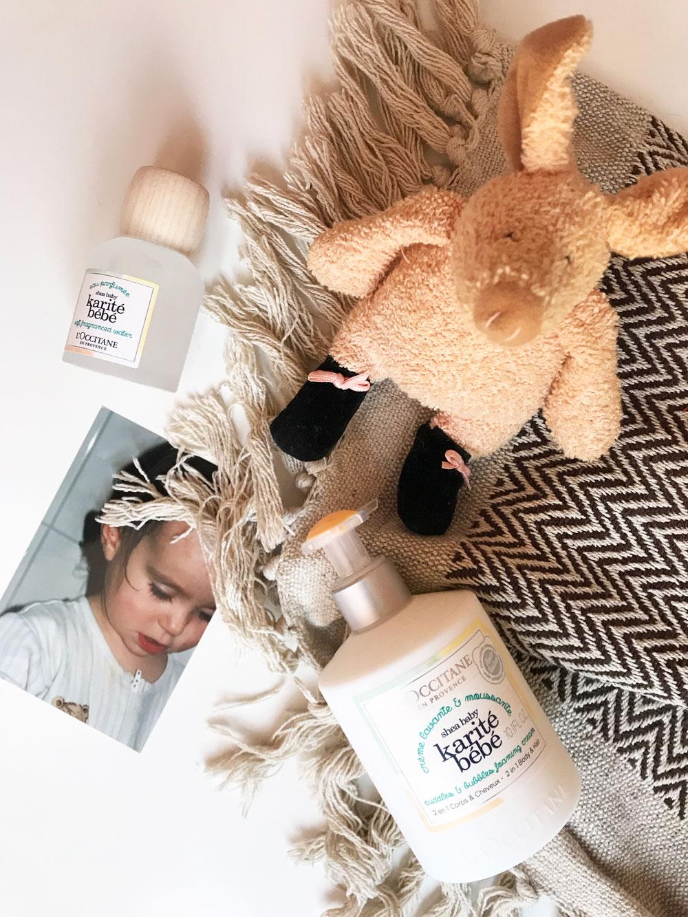 L' Occitane lanciert mit Karité Bébé eine Pflegelinie für die empfindliche Baby-Haut.