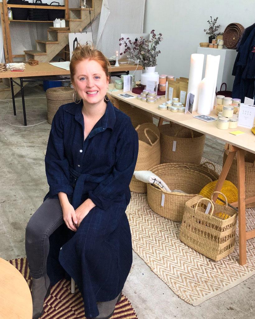 Jungunternehmerin und Girlboss Sandra Fischer über die Geschichte ihrer Naturkosmetik-Firma Shea Yeah und was sie von den Frauen in Ghana gelernt hat.