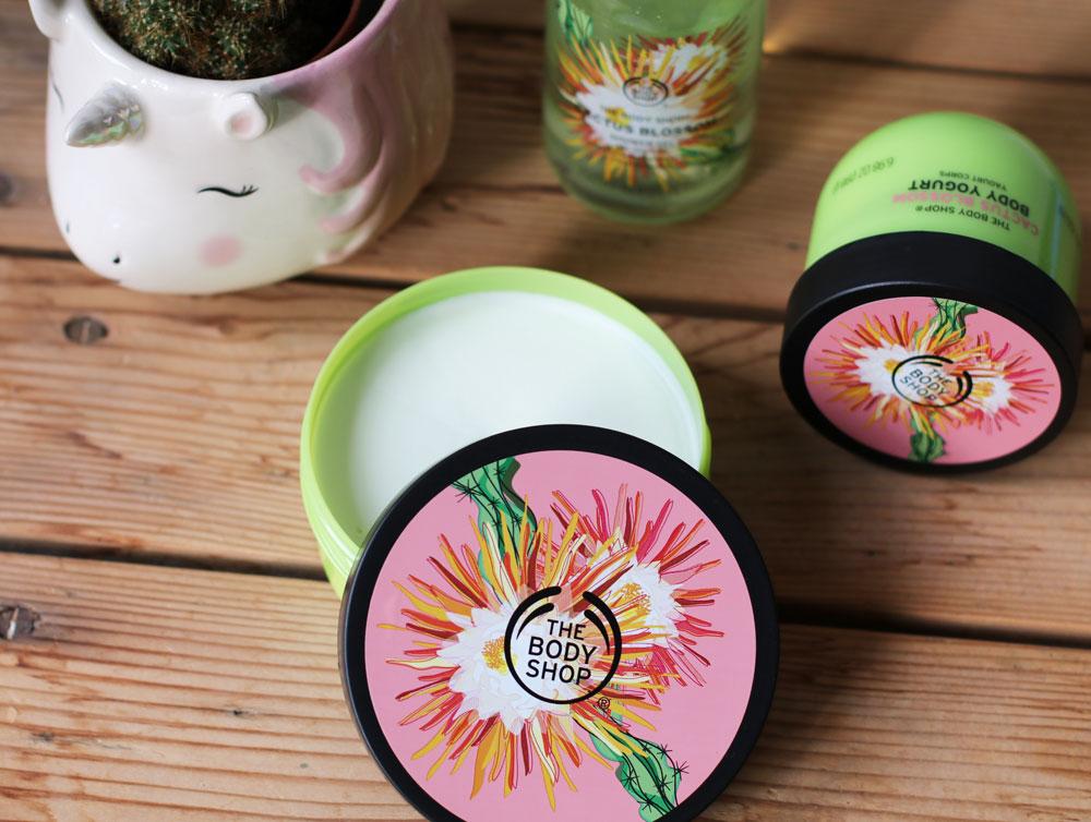Win: Auf sonrisa werden zwei Sets der neuen Cactus Blossom Linie von The Body Shop verlost.