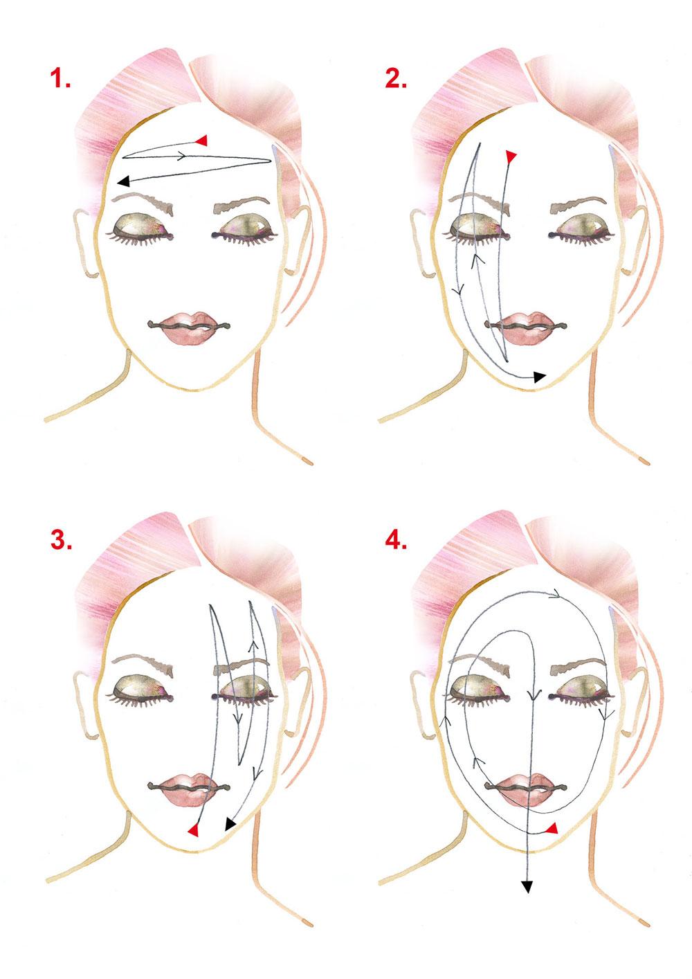 Der Gesichtsguss nach Kneipp macht nicht nur munter, sondern auch schön.