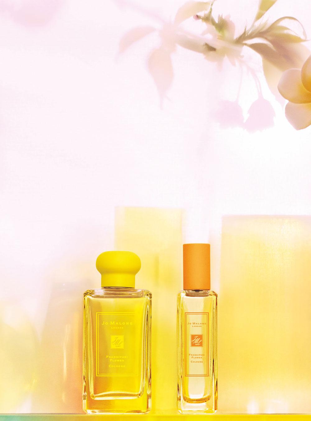 Jo Malone London erweitert die Blossom-Linie um das - limitierte! - Cologne Frangipani Flower.
