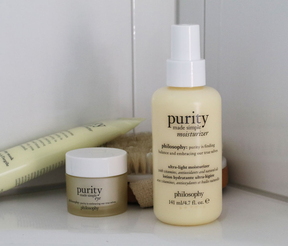 Nicht nur sauber, sondern rein: Mit den Produkten aus der Purity made simple-Linie von Philosophy gelingt allen der Beauty-Frühlingsputz