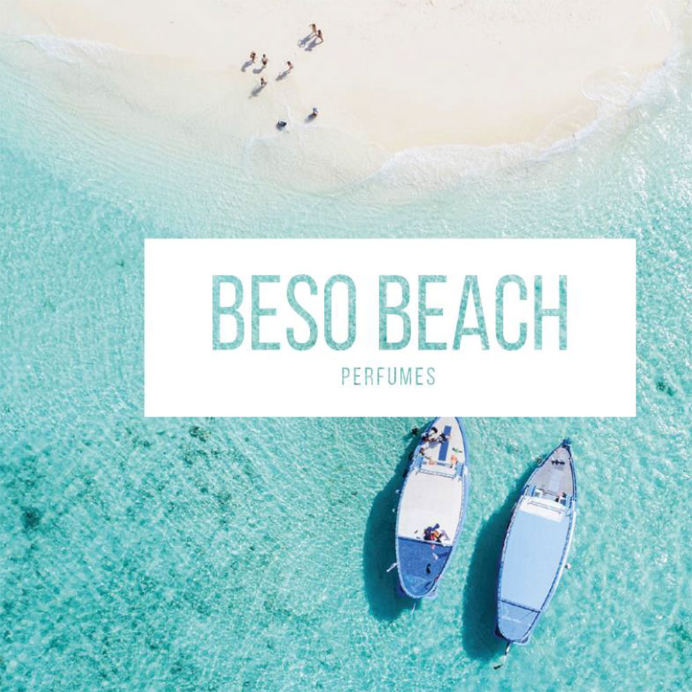 Die Duft-Reihe Beso Beach von Joaquin Carner ist eine Hommage an den mediterranen Lifestyle in den Beso Beachclubs.