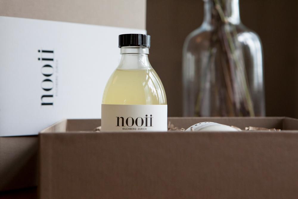 """Nach dem Motto """"Weil Sie dem Körper etwas geben sollten, das ihm gut tut"""", hat Ex-Model Daniela Schweingruber das Naturkosmetik-Label Nooii gegründet mit hochwertigen Pflegeprodukten hand made in Switzerland."""