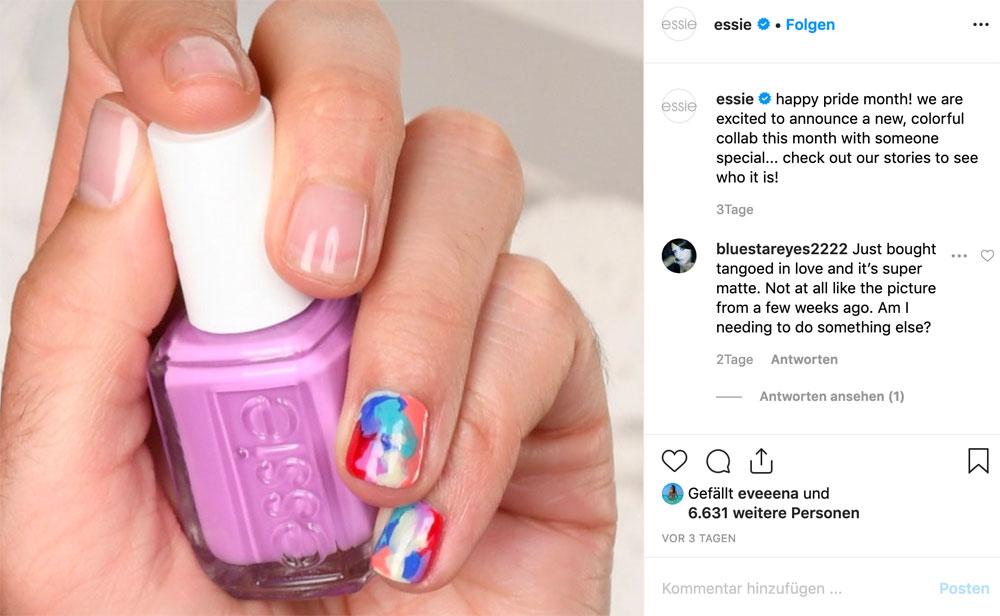 Y-e(ssie) Henny: JVN bringt als erster nicht weiblicher Botschafter von Essie ganz schön viel Farbe in die Beauty-Welt