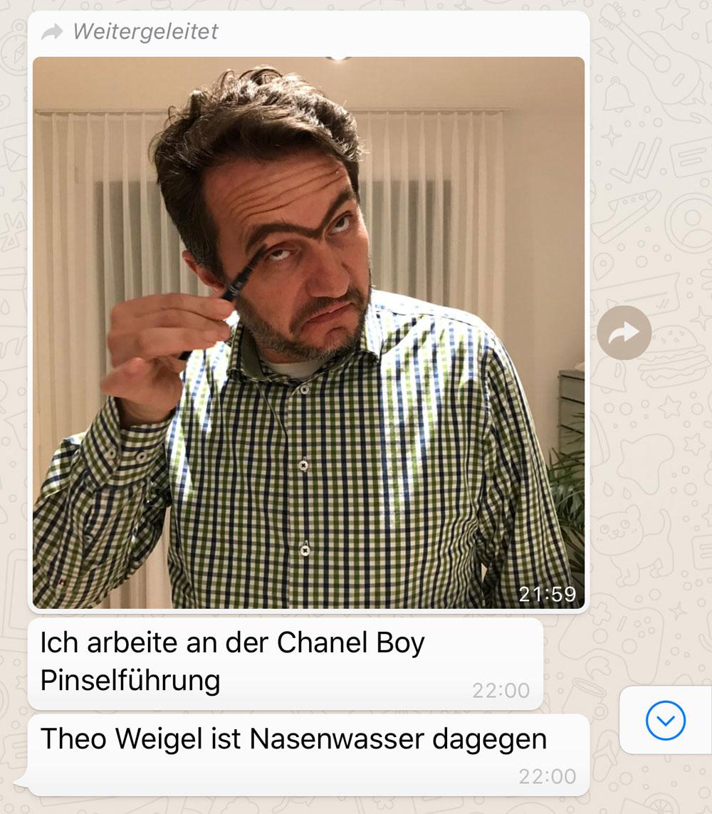 Der gepflegte Mann: Beauty-Held Daniel Ranz testet sich für sonrisa durch spannende Produkte aus dem Kosmetik-Kosmos für Männer wie etwa Makuep-Linie Chanel Boy