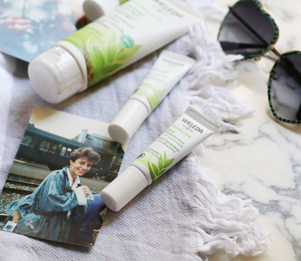 Weleda Naturally Clear wurde als ganzheitliche Kosmetiklinie für die unreine Haut in jedem Alter entwickelt.