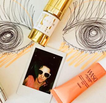 Gastbloggerin Florina testet für sonrisa vier Augenpflege-Neuheiten von günstig bis teuer.