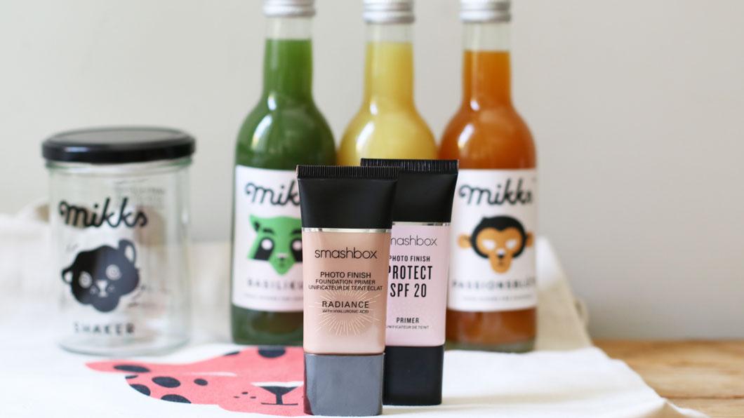 Makeup-Cocktail für einen frischen Teint: Smashbox x Mikks