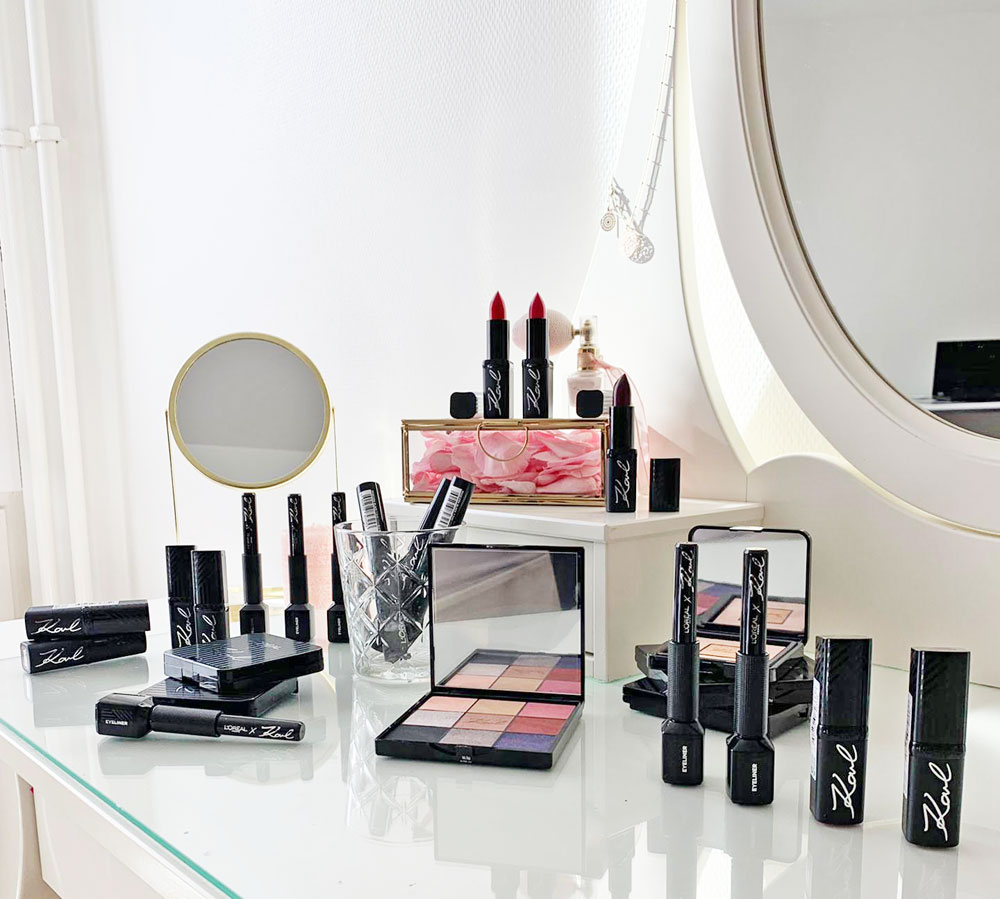 Das Warten hat ein Ende: Auf sonrisa gibt es die ersten Bilder zur Karl Lagerfeld x L' Oréal Paris Kollektion zu sehen - und viele Informationen dazu.