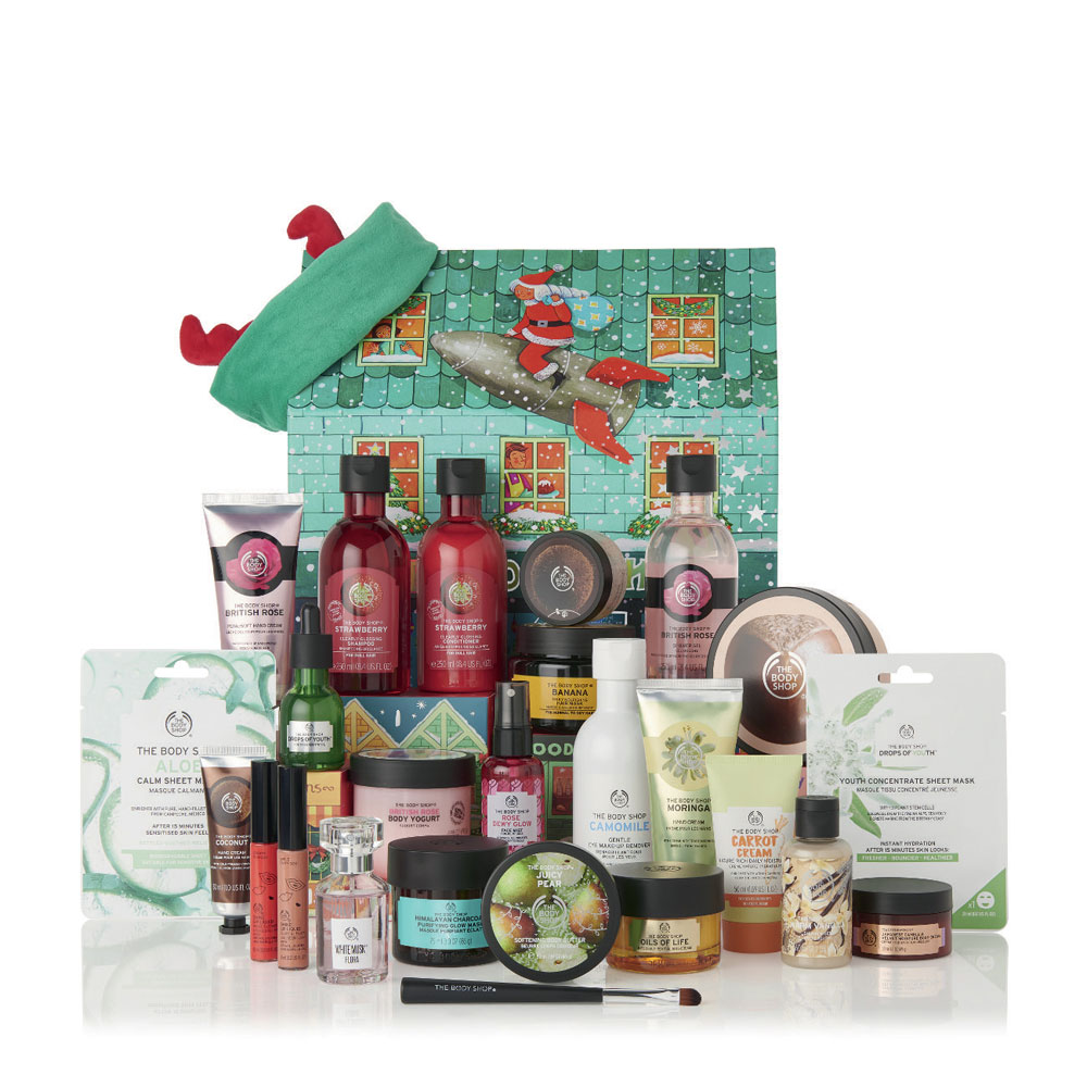Dream big - and win! sonrisa verlost den Deluxe & Ultimate Adventskalender von The Body Shop