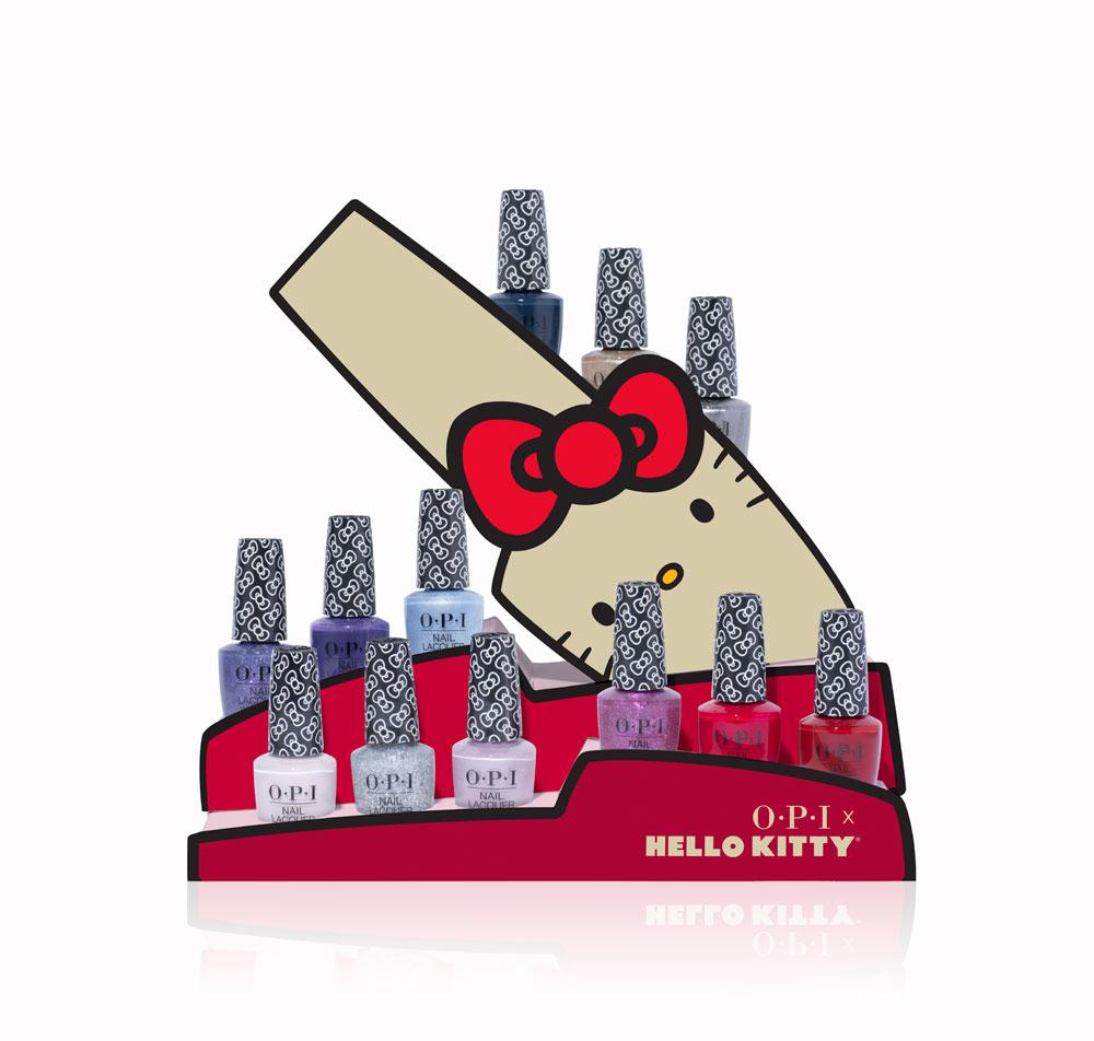 Let's be friends: Aufgrund grosser Nachfrage gibt es eine Neuauflage der beliebten Nagellack-Kollektion Hello Kitty by OPI.