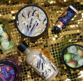 Mit der Seasonal-Kollektion von The Body Shop steigt sonrisa ein in die Weihnachtssaison 2019.